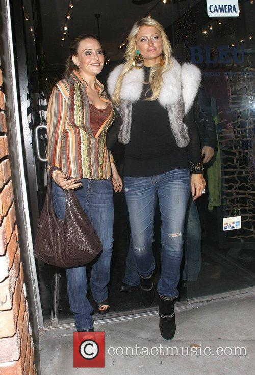 Brooke Mueller and Paris Hilton Paris Hilton films...
