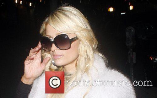Paris Hilton, Bleu and Brooke Mueller 1