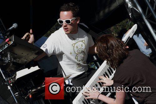 Uffie Parklife Music Festival at Moore Park Sydney,...