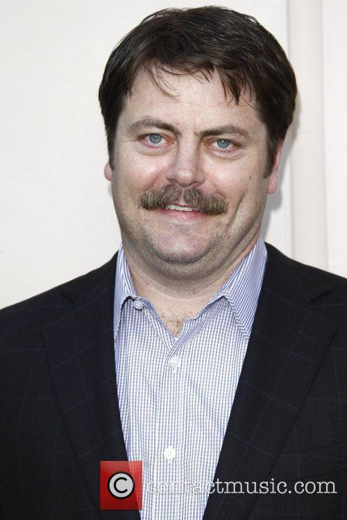Nick Offerman 'Parks And Recreation' screening at Leonard...