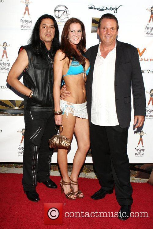 Eddie Ojeda, Jenna Kuns and Shawn Heyl Partying...