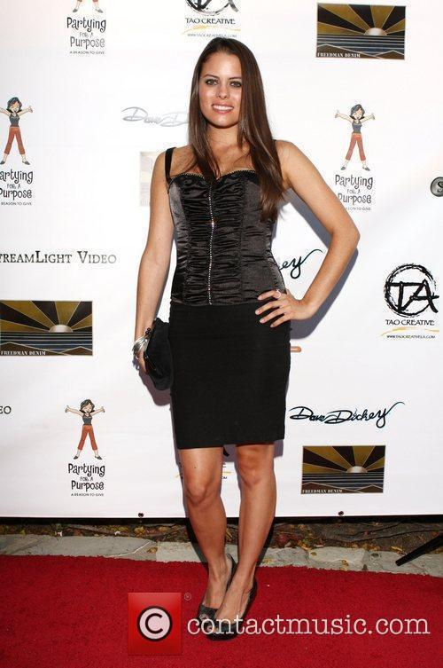 Natalia Flores Partying for a Purpose 7th Annual...