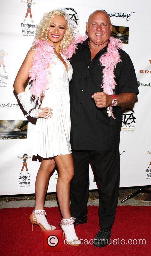 Natasha Pink and Dennis Hof Partying for a...