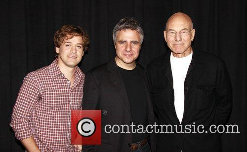 T.r. Knight, Gerald Schoenfeld and Patrick Stewart 3