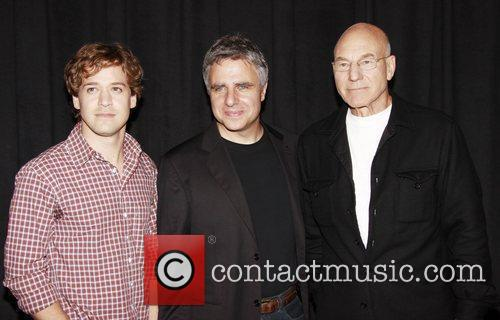 T.r. Knight, Gerald Schoenfeld and Patrick Stewart 10