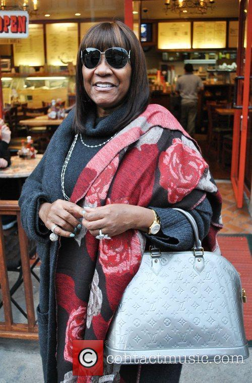 Miss Patti La Belle out for lunch Beverly...