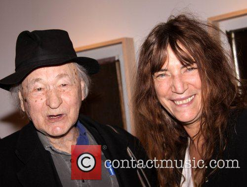 Jonas Mekas and Patti Smith 1