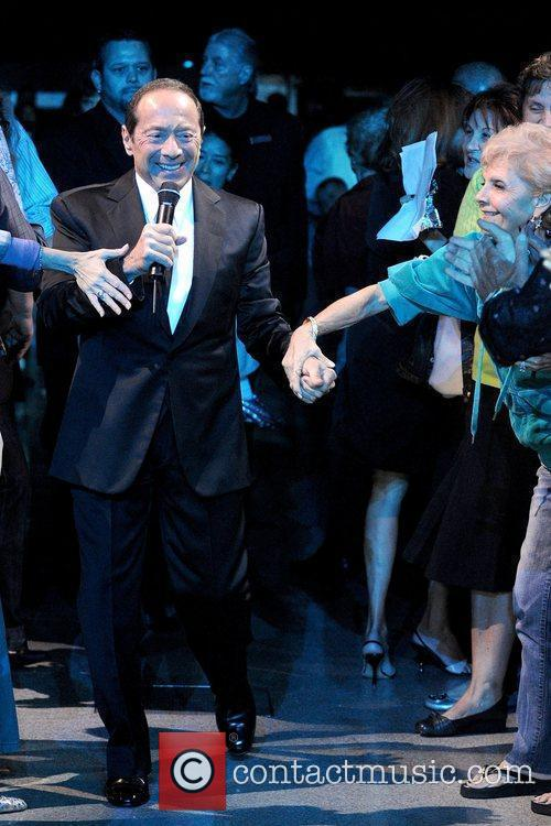 Paul Anka performing live in concert at Hard...