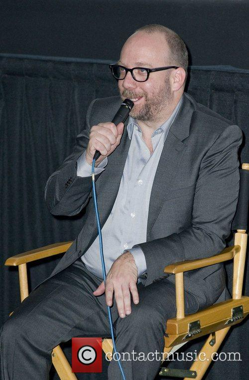 Paul Giamatti at a special preview of Barney's...