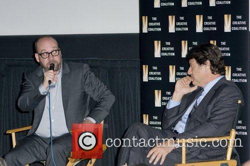Paul Giamatti and Robert Lantos at a special...