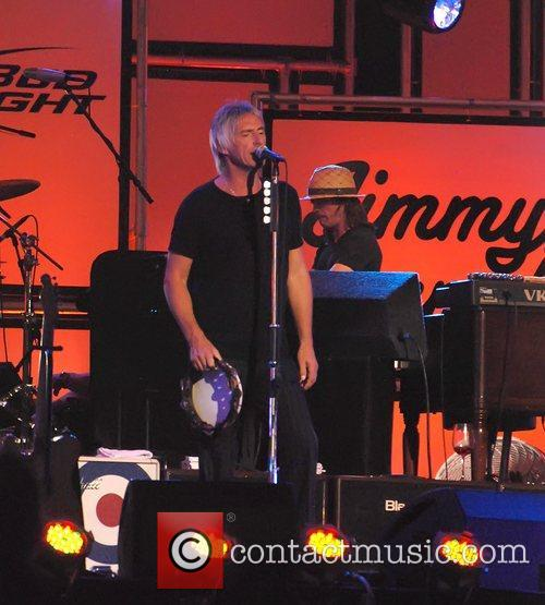 Paul Weller and Jimmy Kimmel 3