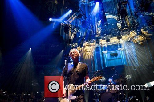 Performing at the Royal Albert Hall.