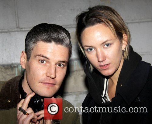 DJ Nate Lowman and Guest Celebrities attend a...