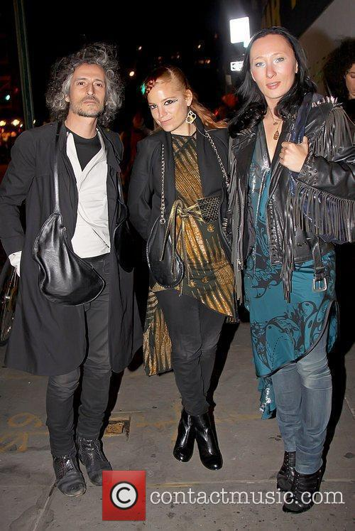 Celebrities attend a special reading of 'Madame Bovary'...