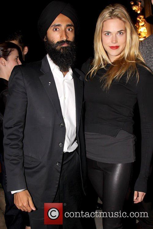 Waris Ahluwalia and Byrdie Bell Celebrities attend a...