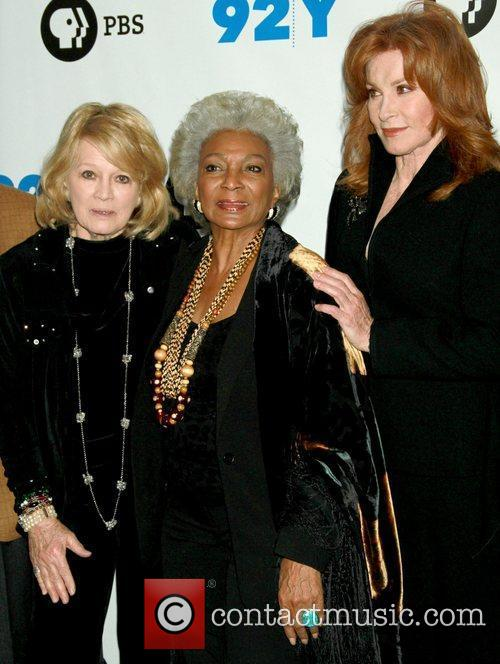 Angie Dickinson, Nichelle Nichols and Stefanie Powers 2