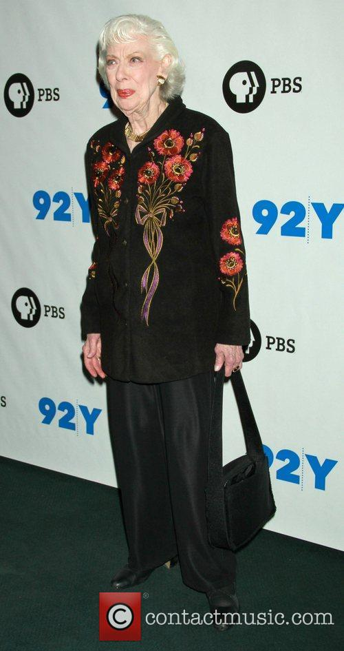Joyce Randolph at the 92Y promoting the new...