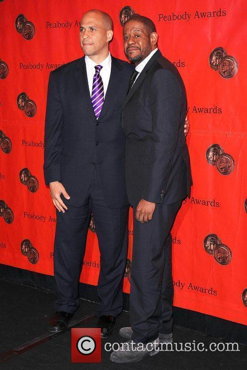 Cory Booker, Forest Whitaker 69th Annual Peabody Awards...