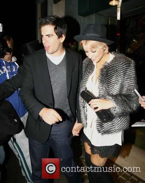 Peaches Geldof and Eli Roth 4