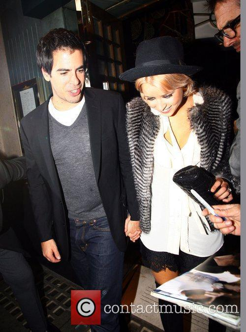 Peaches Geldof and Eli Roth 11