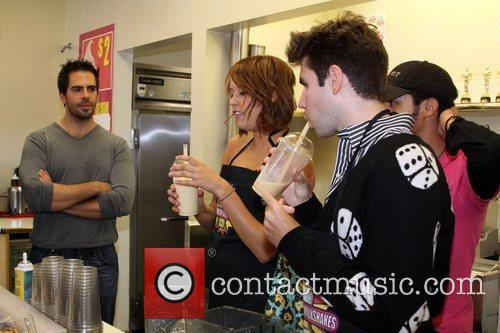 Jonny Cupcakes and Eli Roth 5