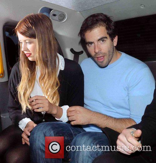 Peaches Geldof and Eli Roth 7