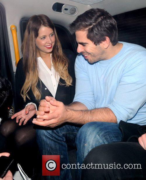 Peaches Geldof and Eli Roth 9