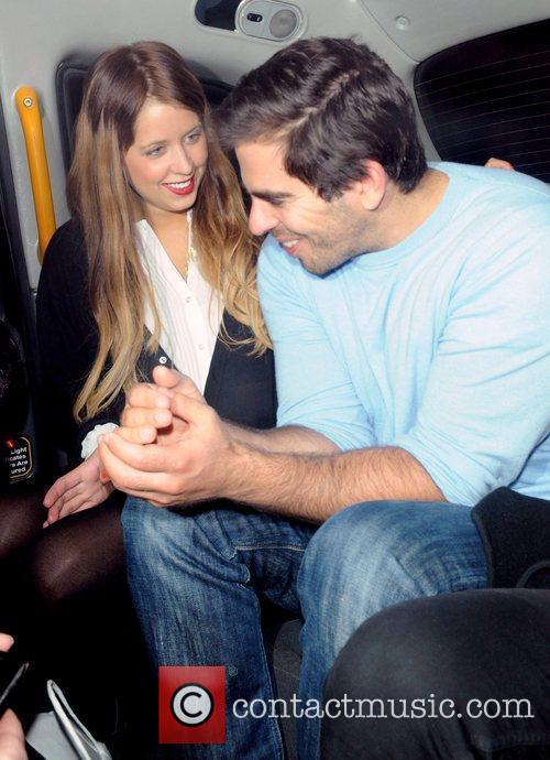 Peaches Geldof and Eli Roth 1