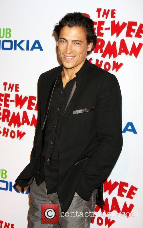 Andrew Keegan at the opening night of the...