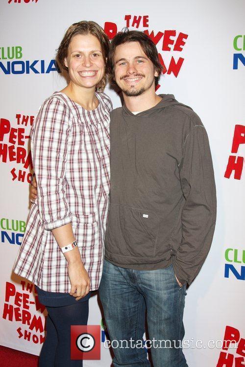 Jason Ritter and Marianna Palka