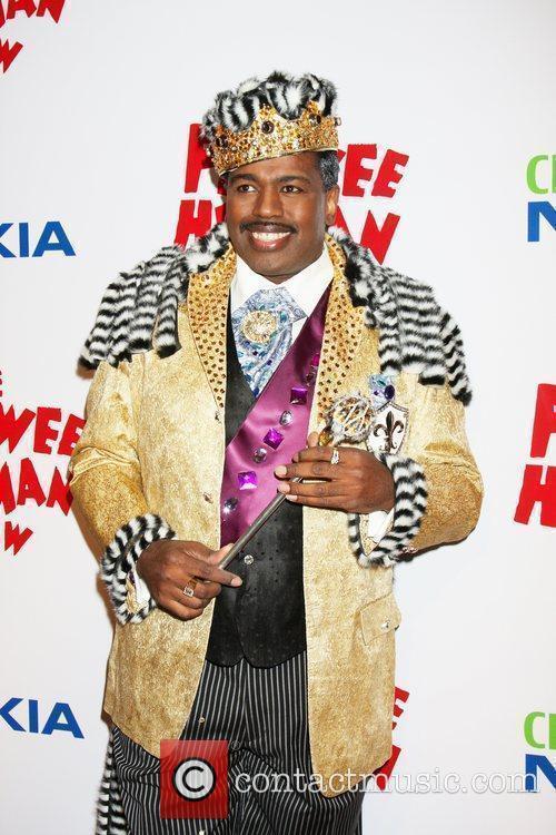 Lance Roberts as King of Cartoons at the...