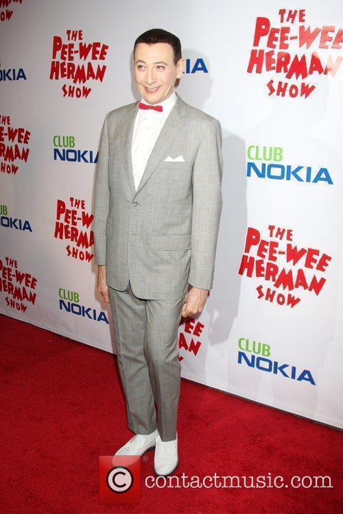 At the opening night of the 'Pee-Wee Herman...