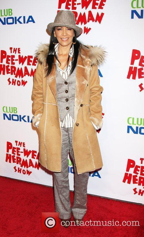 Sheila E at the opening night of the...