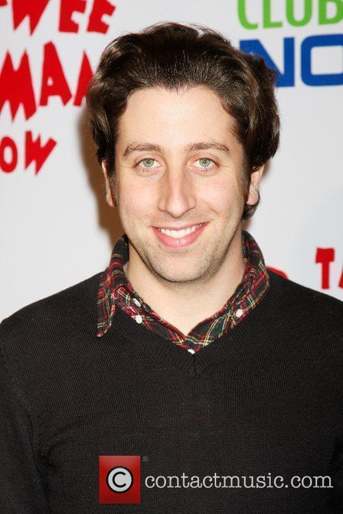 Simon Helberg at the opening night of the...
