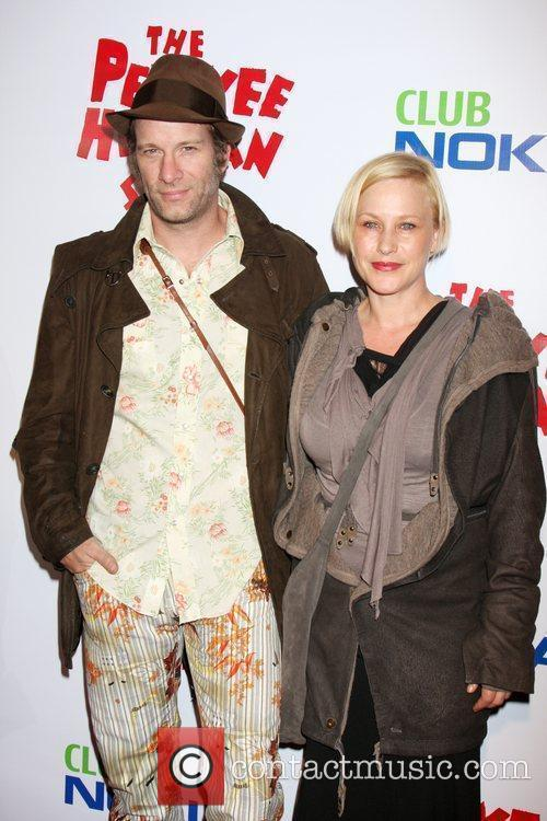 Thomas Jane & Patricia Arquette at the opening...