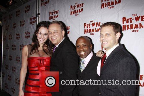 Guests and Pee Wee Herman 1