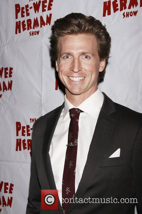 Josh Meyers and Pee Wee Herman
