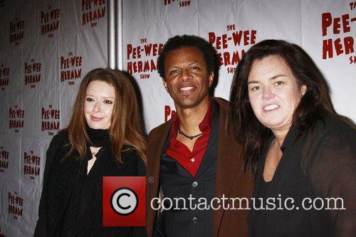 Natasha Lyonne, Pee Wee Herman, Phil Lamarr and Rosie Odonnell