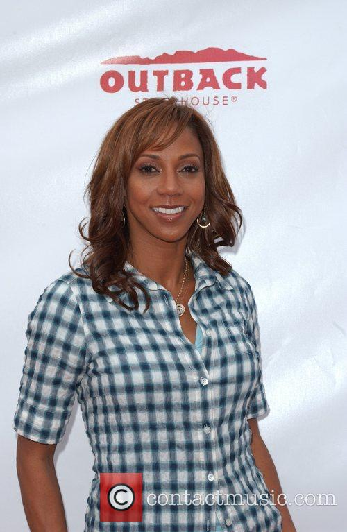Holly Robinson Peete celebrates the launch of her...