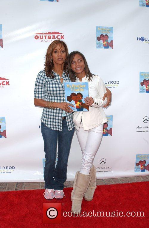 Holly Robinson Peete and daughter Ryan Elizabeth Peete...