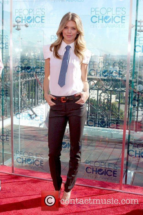 AnnaLynne McCord at the 2011 People's Choice Awards...