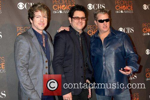Rascal Flatts People's Choice Awards 2010 held at...