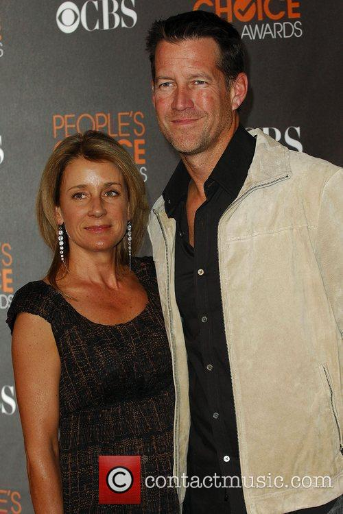 James Denton and wife Erin O'Brien People's Choice...