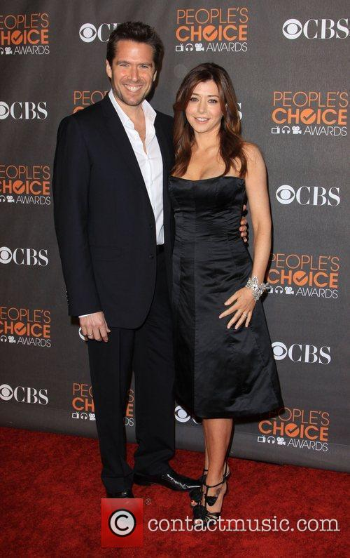 Alexis Denisof and Alyson Hannigan People's Choice Awards...