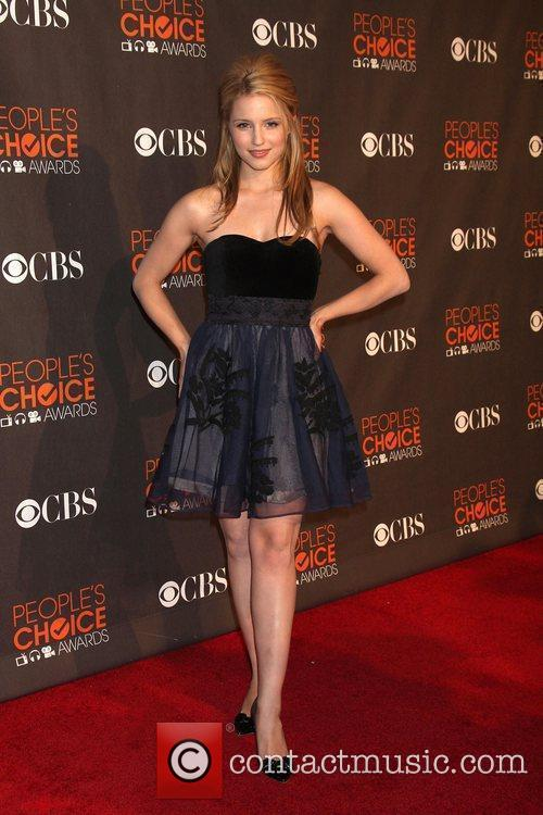 Dianna Agron People's Choice Awards 2010 held at...