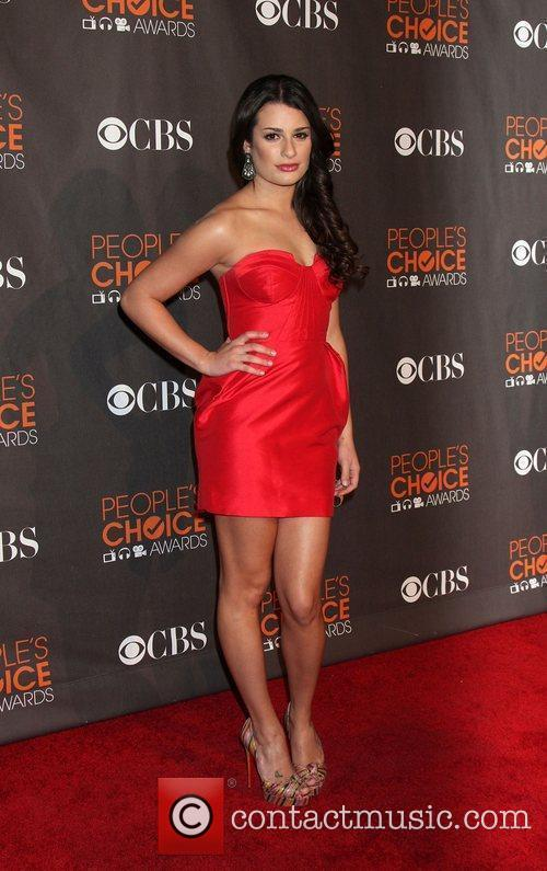 Lea Michele People's Choice Awards 2010 held at...