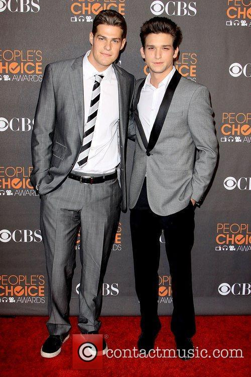 Greg Finley and Daren Kagasoff People's Choice Awards...