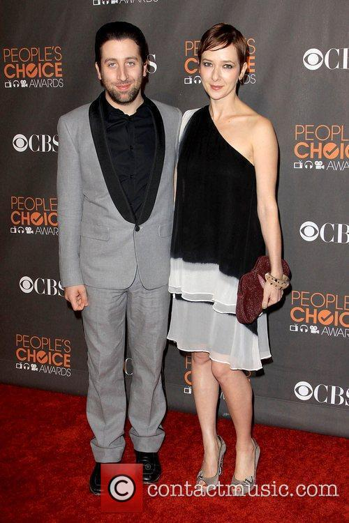 Simon Helberg and Guest People's Choice Awards 2010...