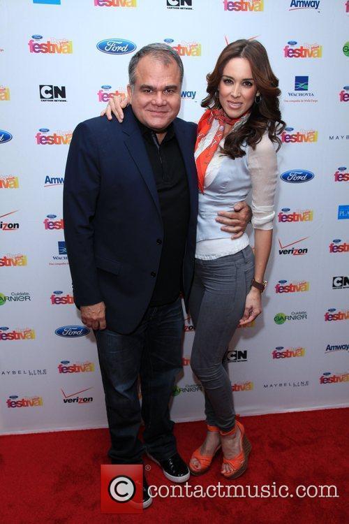 Armando Correa and Jacqueline Bracamontes 'People En Espanol'...