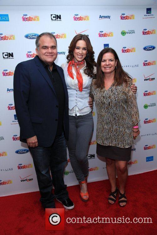 Armando Correa, Jacqueline Bracamontes and Lucia Ballas-Traynor...